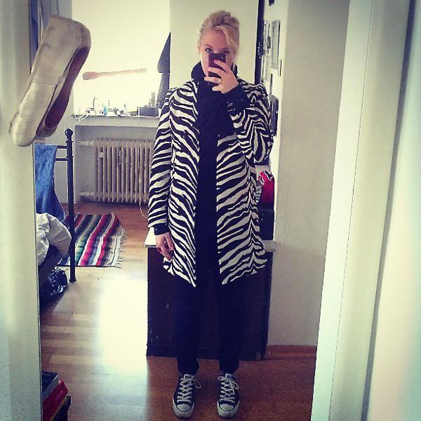 Zebra-Coat