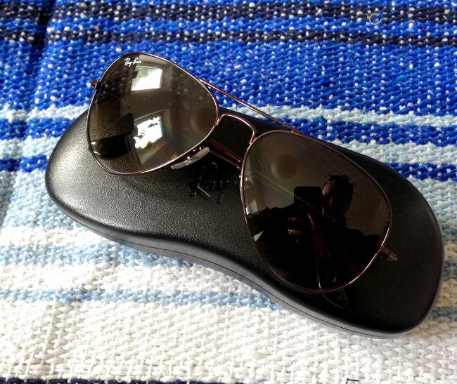 Sonnenbrille hilft nicht nur gegen fieses in die sonne blinzeln