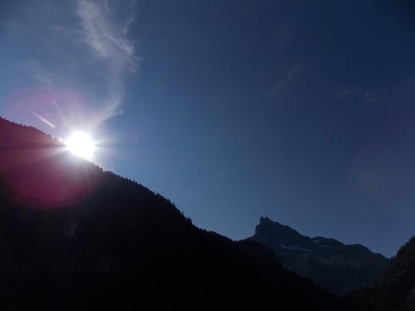 Sky-mountain-sun