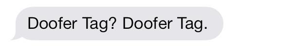doofer-tag