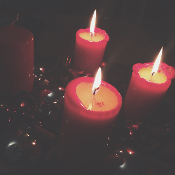 Blogmas-Adventskranz