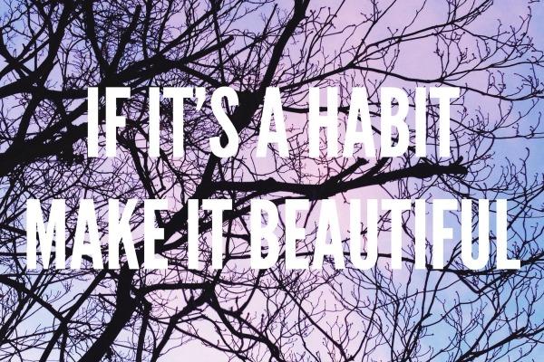 Wort-Montag-Habit
