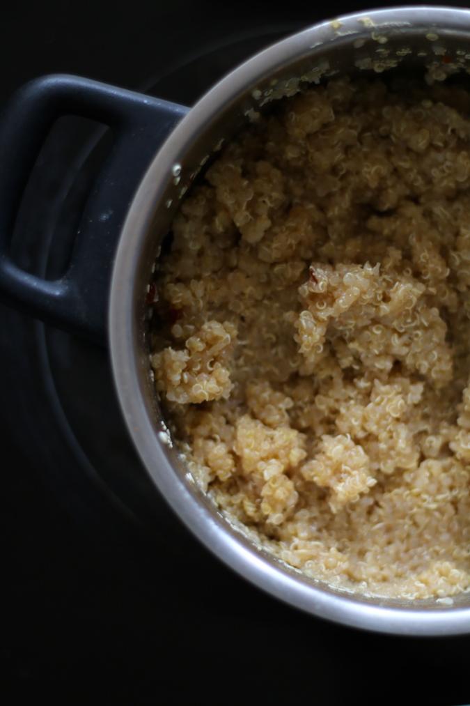 Quinoa-gekocht