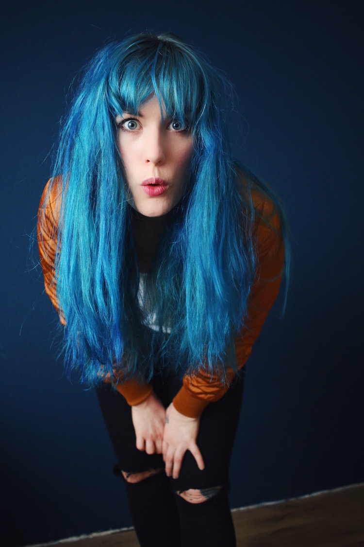Blaue Haare Directions Midnight Blue