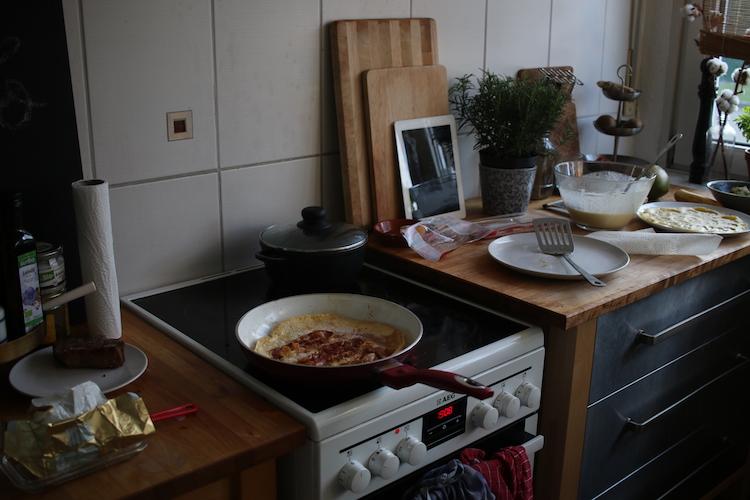 Pfannkuchen Kueche