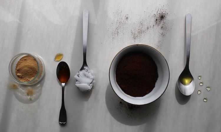 Selbstgemachtes Kaffeepeeling Naturkosmetik