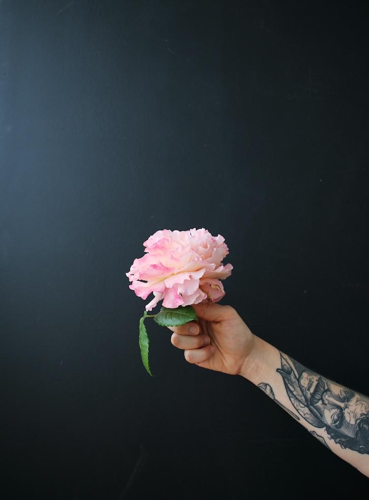 Mailieblinge mit Blumen